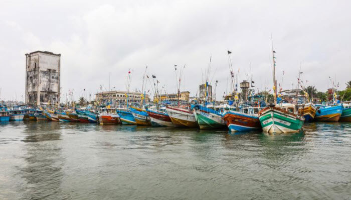 Fishermen allowed to set sail from Galle harbor