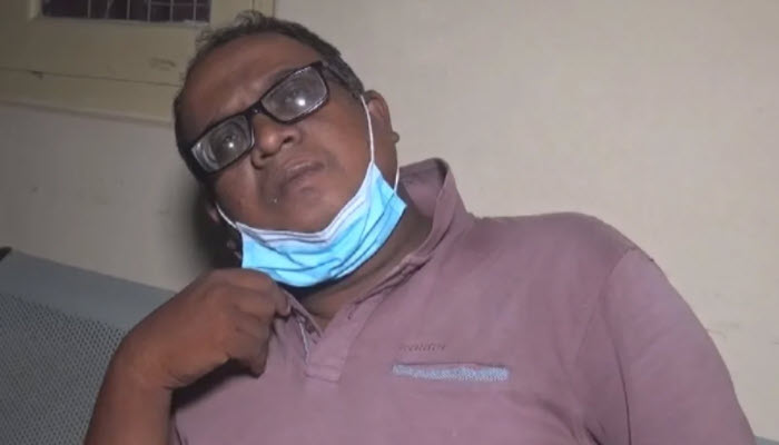 Newsfirst Gampaha regional correspondent Manoj Edirisinghe attacked